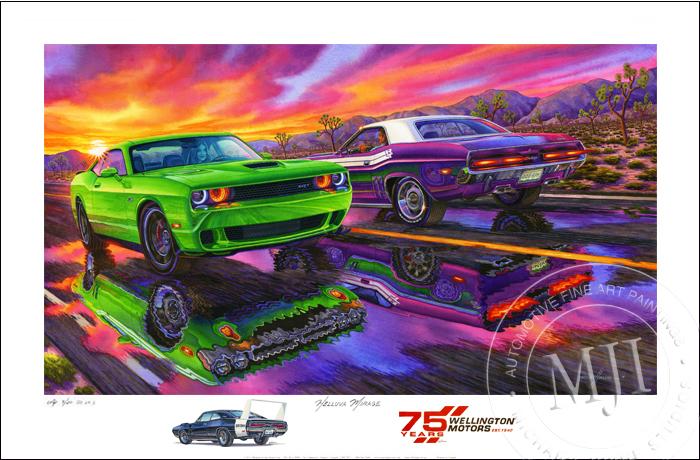 Artist Proof AP Hellcat Wellington Motors Daytona